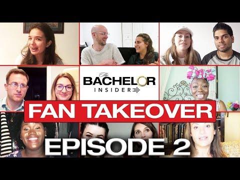 Bachelor Insider Fan Takeover! Bachelorette S14 Episode 2 Recap