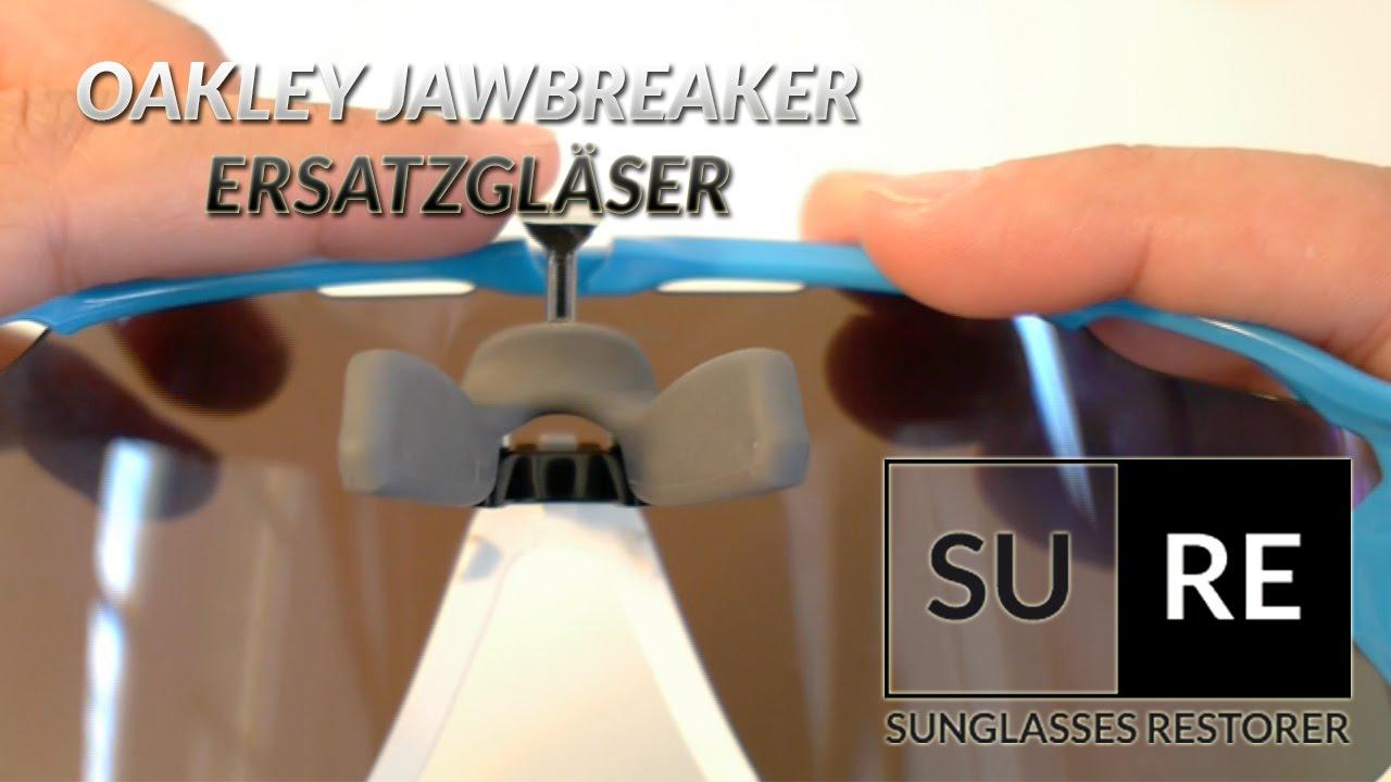 dda94757678c Oakley Jawbreaker Ersatzglaser - Wie tauscht man die Gläser  - YouTube