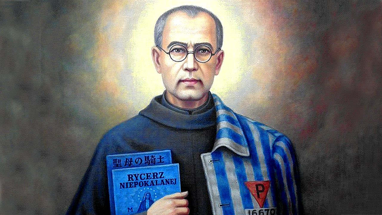 Image result for st. maximilian kolbe