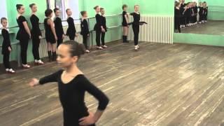 Открытый урок Народный танец 20.05.15