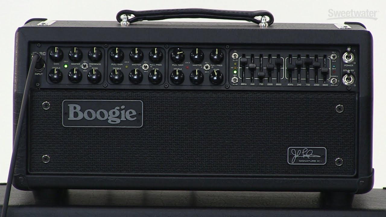 Mesa/Boogie JP-2C Mark IIC+ Amplifier Review by Sweetwater