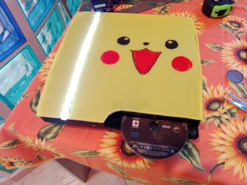 DIY how to build a ps3 cover