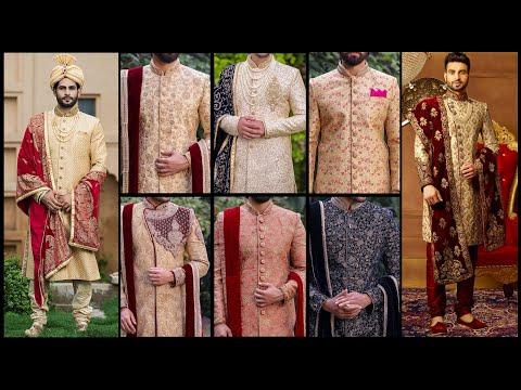 Latest And Top Class Designer Sherwani Collection 2019/Groom Sherwani Designs 2019- 2020 || FSHC