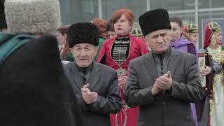 (07.03.2018г. в г.о. Баксан) Конный проход, приуроченный к выборам Президента РФ (