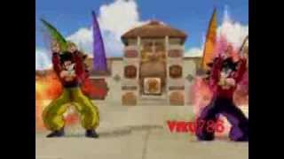 Ssj4 Goku and Ssj4 Gohan Fusion Request by barsason1