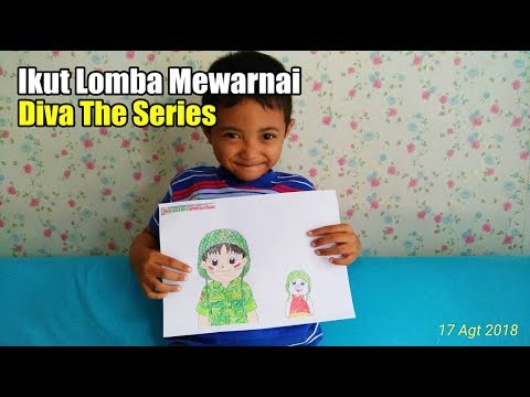 Ikut Lomba Mewarnai Diva The Series Youtube