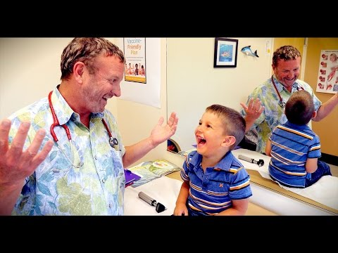 Download Youtube: CUTE KID (with Fifth Disease) CAN'T STOP LAUGHING | Dr. Paul