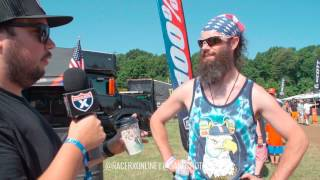 Frankie Garcia and Kyle Scott cruise the pits at RedBud to see what...