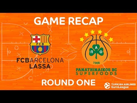 Highlights: FC Barcelona Lassa - Panathinaikos Superfoods Athens