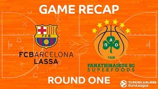Highlights: FC Barcelona Lassa - Panathinaikos Superfoods Athens