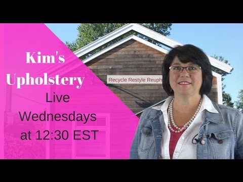 Kim's Upholstery Live Episode 15 Day Bed Last Day
