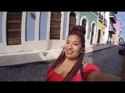 Exploring the streets of Old San Juan, Puerto Rico II Go Pro Hero 4 Black