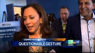 Congresswoman dodges questions about Native American remark, gesture