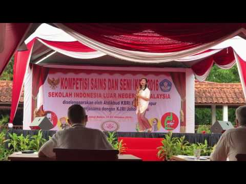 Dayita's performance for Story Telling Competition