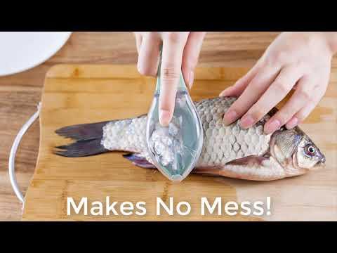 Convenient Fish Scaler