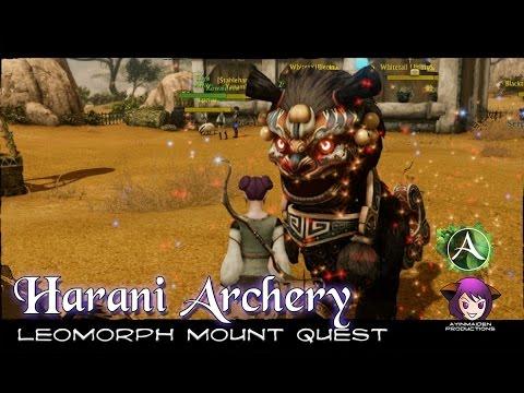 ★ ArcheAge ★ - Harani Mount Quest - Leomorph