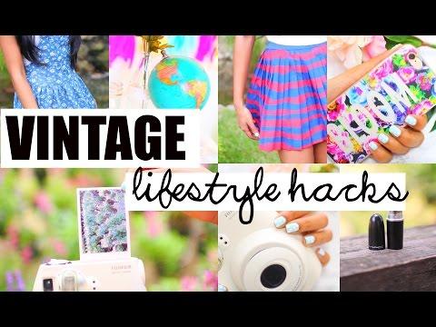 Vintage Lifestyle Hacks | Essentials, IG Filters & More | Paris & Roxy