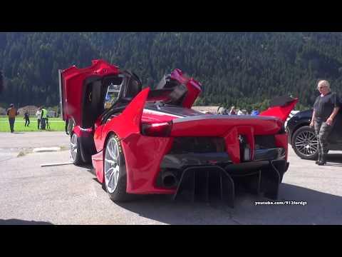 Ferrari LaFerrari FXX-K HARD REVS &...