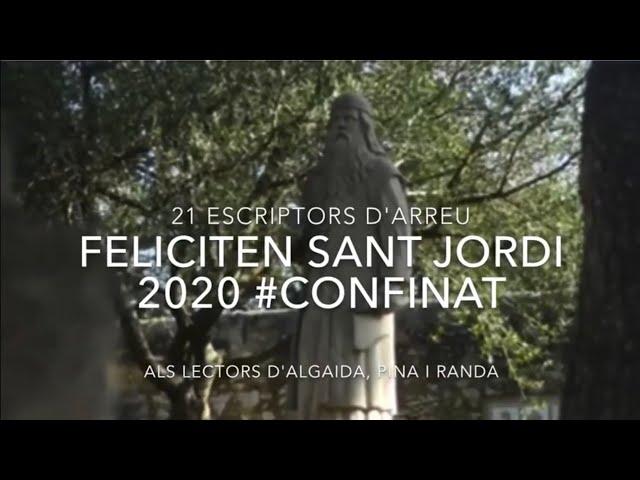 Paradeta virtual de Sant Jordi 2020 dedicada a les lectores i lectors d'Algaida, Pina i Randa