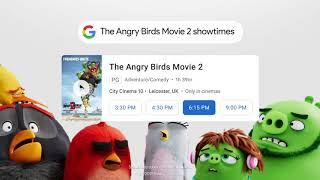 Movie Showtimes: The Angry Birds Movie 2