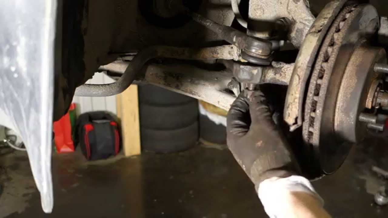 How To Replace Tie Rod End Toyota Corolla Years 1991 To