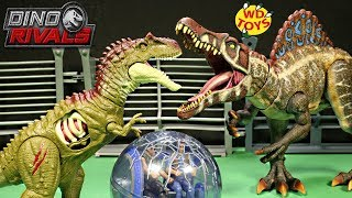 New Jurassic World Battle Damage ALBERTOSAURUS Unboxing Dino Rivals fallen Kingdom Mattel Dino Toys