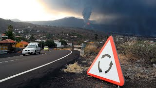 Prohíben el acceso a La Laguna por Tazacorte por la cercanía de lava
