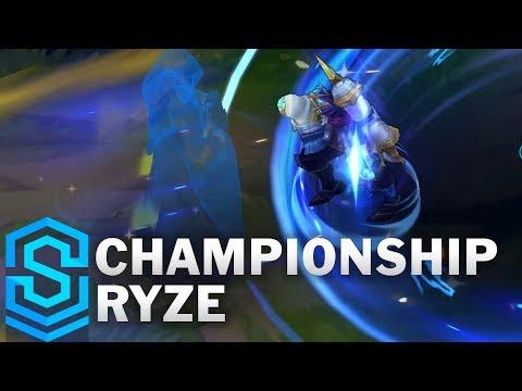 Championship Ryze Skin Spotlight - League of Legends