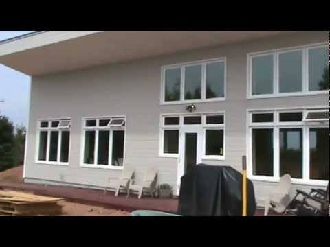 Earth Bermed – ICF – Passive Solar House Video.wmv
