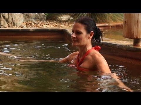 Aqua Therapy Pool Peninsula Hot Springs, Mornington Peninsula, Australia