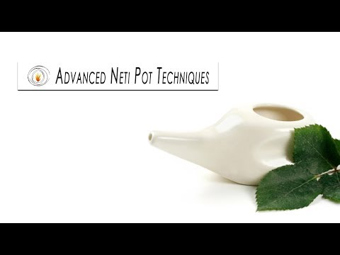 Advanced Neti Pot Techniques - Dr Henele
