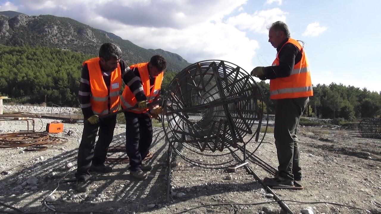 Korubükü - Karaçay Köprüsü'nün yapımı Seydikemer Belediyesi Koordinasyonunda başladı.
