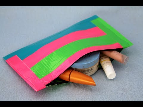 Beach Crafts Using Duct Tape