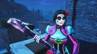 *NEW* ROSA SKIN GAMEPLAY IN FORTNITE | DAY OF THE DEAD SKINS| STREAM SNIPE|280+ WIN