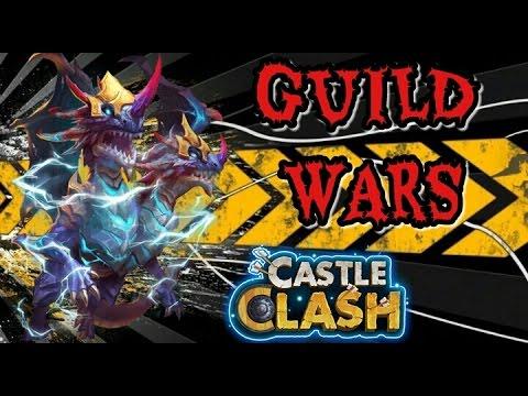 Castle Clash Quick Guild Wars Runs! (BG) Nov 3/2016