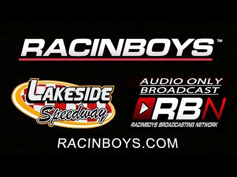RacinBoys Live Audio From Lakeside Speedway at racinboys.com