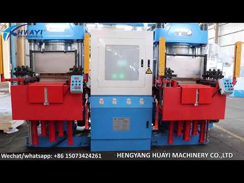 Huayi Rubber Vacuum Compression Molding Machine for Auto ...