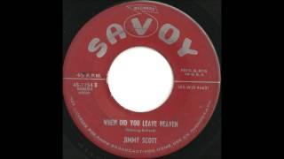 Jimmy Scott - When Did You Leave Heaven - TREMENDOUS 50