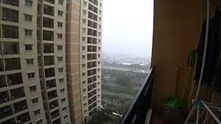 [인도네시아/Indonesia] 비오는 날 베란다 풍경