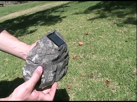 Solar Rock Lights (Stone Solar Spot Lights) at www.yoursolarlink.com