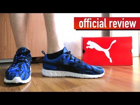 d6b6ec2fc59d4f Puma Carson Runner Geo Camo Running Shoes Review - YouTube