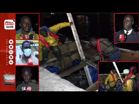 Exclusif: Ayant frôlé la m0rt, les trois pêcheurs de Thiaroye sur mer se confient