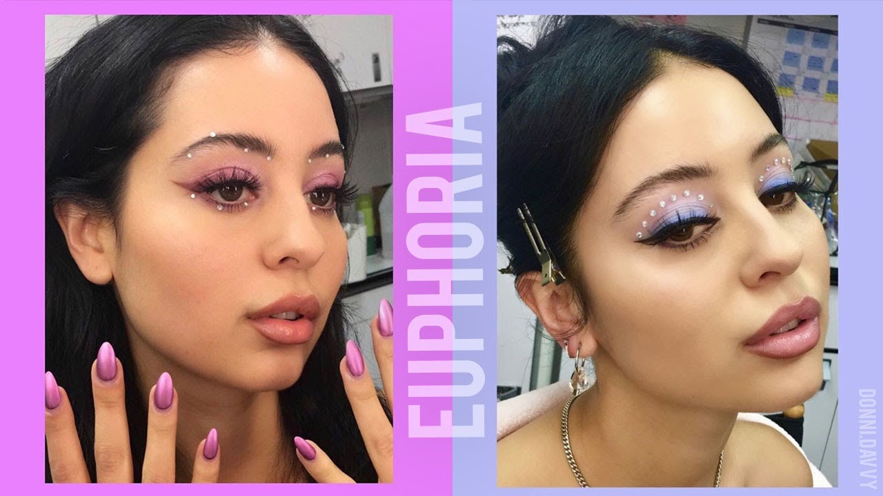 Euphoria Maddy Makeup Tutorial Daisy Marquez Youtube