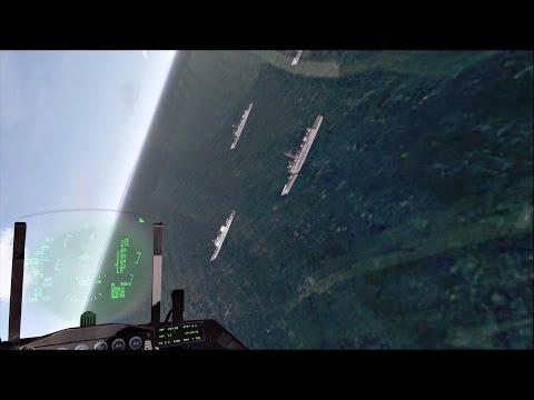 Falcon BMS - Battle for Balkans - Episode 29 - Patrolling Over Adriatic Sea
