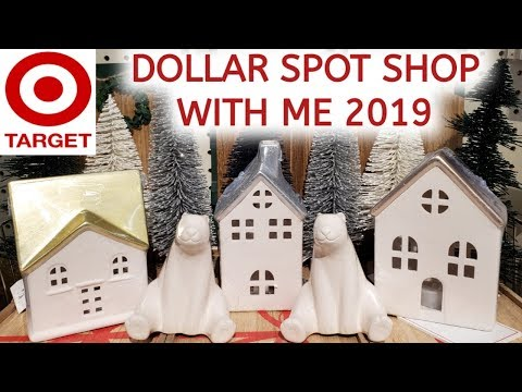 NEW TARGET DOLLAR SPOT CHRISTMAS DECOR 2019 | 4K | SHOP WITH ME | A Mom's Life With Becky Buford