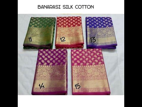 latest designer banarasi silk sarees with price/fashion9tv/price:1850 /-