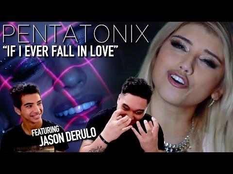 Pentatonix - If I Ever Fall in Love (ft Jason Derulo) REACTION!!!