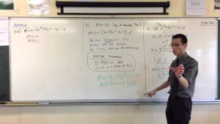 Remainder & Factor Theorems (4 of 4: Finding out what the Factor Theorem shows us)