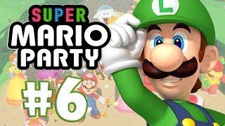 SUPER MARIO PARTY #6 - NÃO SEI FRITAR BIFE!