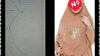 vuclip Macam Macam Pola Jilbab Syar'i Terbaru ll Mudah dan Simpel 👌👌